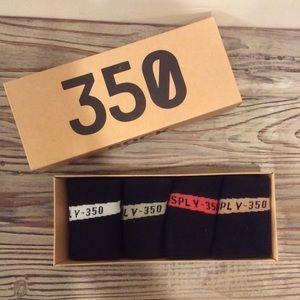 Yeezy Underwear & Socks - 350 boost yeah sock set